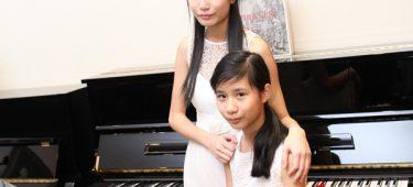 Tài năng piano trẻ Diệu Ân và Diệu Linh