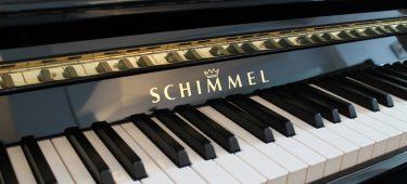Piano Schimmel sản xuất 100% tại Đức